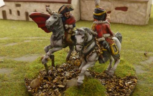 28mm Napoleonic French Napoleon and General