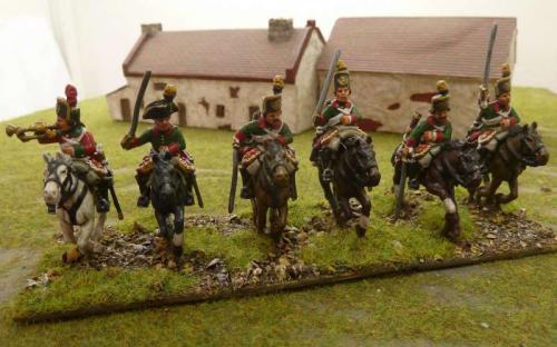 28mm Napoleonic Lombardy Austrian Cheveauleger