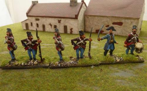 28mm Napoleonic Lombardy Austrian Skirmishers