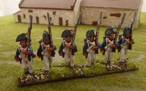 28mm Napoleonic Revolutionary French infantry
