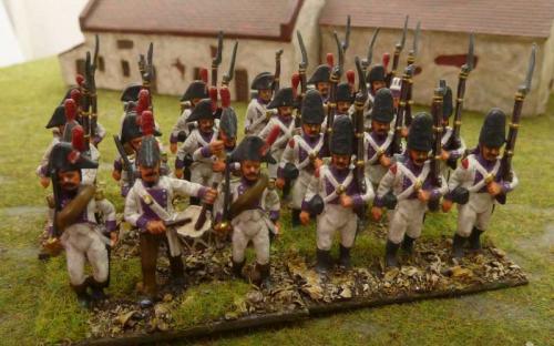 28mm Napoleonic Spanish infantry