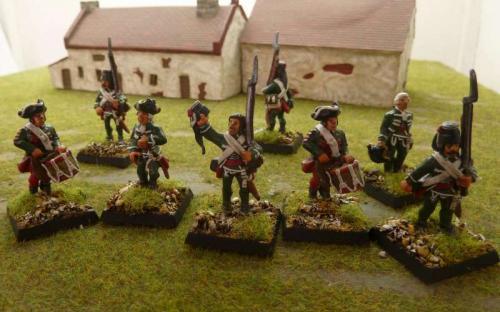 28mm Napoleonic von Kliest Croats