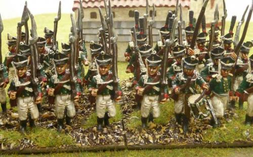 28mm Ready Painted Russian infantry