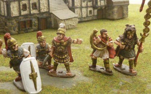 28mm Roman Legionaries