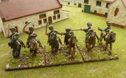 Sash and Sabre French Chasseurs (Elite company)