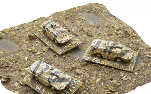 6mm (1-285th) Iraq (gulf war) BRDM2 with command
