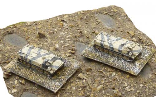 6mm (1-285th) Iraq (gulf war) MTLB command vehicles