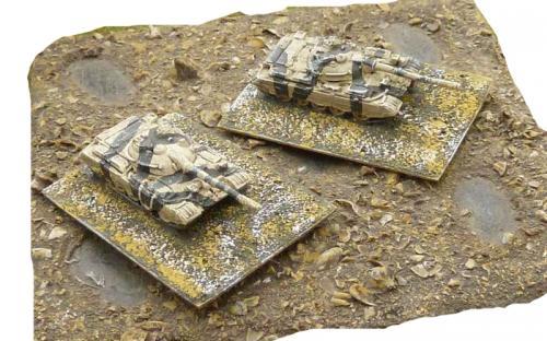 6mm (1-285th) Iraq (gulf war) Type 69 tanks (Chinese model)