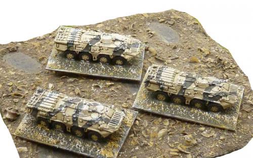 6mm (1-285th) Libyan loyalist BTR APCs