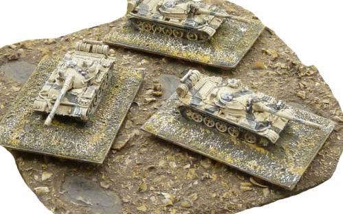 6mm (1-285th) Libyan loyalist T55s