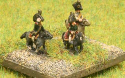 6mm Napoleonic Austrian Generals