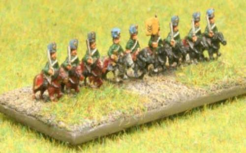 6mm Napoleonic Austrian Hussars