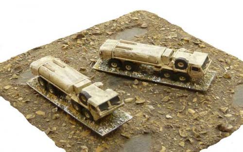 6mm Micro Armor US modern vehicles. GHQ 1/285th castings.