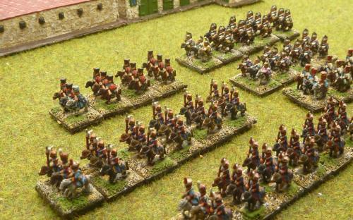6mm Napoleonic French Cavalry