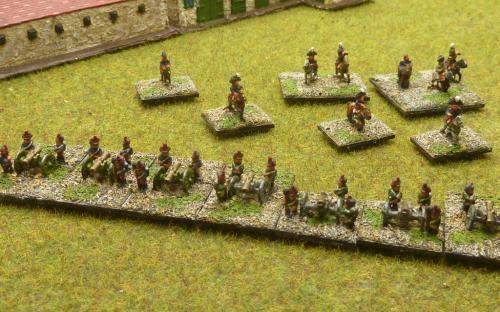 6mm Napoleonic French and Italian Artillery plus Generals