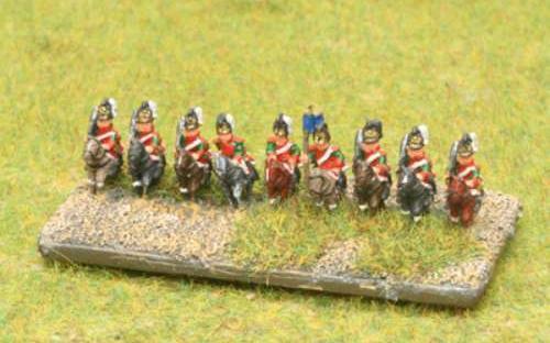 6mm Napoleonic Wurttemberg cheveauleger