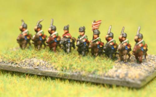 AWI 6mm Rebel Light Cavalry