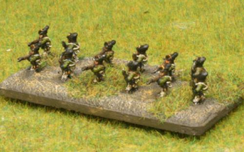 AWI 6mm Rebel Skirmishers