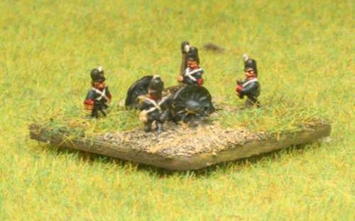 6mm Napoleonic British Royal Foot Artillery
