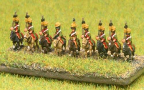 6mm Napoleonic Austrian Uhlans