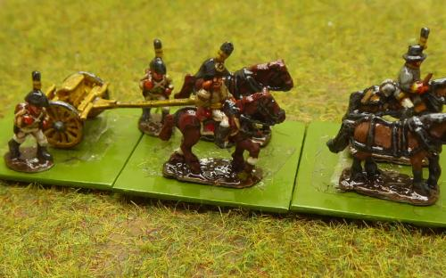 Austrian artillery train