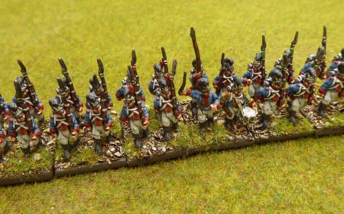 15mm Bavarian Line infantry (Blue moon miniatures)