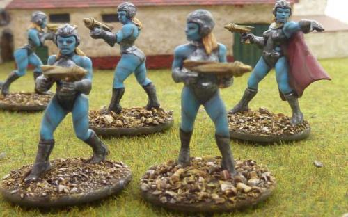 Blue Alien women