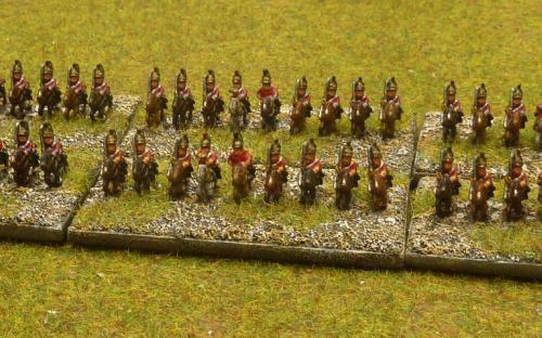 Napoleonic British heavy cavalry