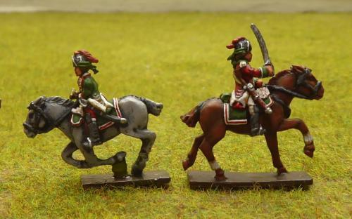 British 15th Light Dragoons 7YW
