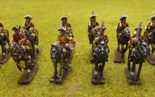 British 6th Dragoons 7YW
