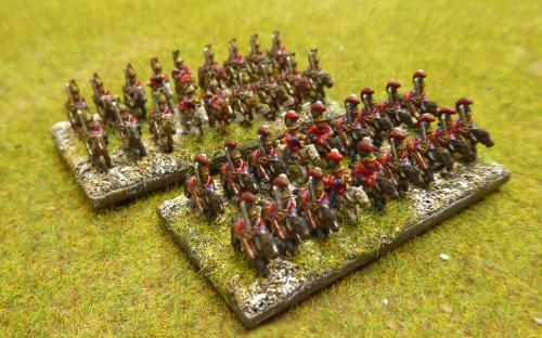 British Life Guards and Dragoons