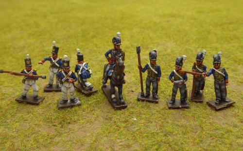 British horse and foot gunners