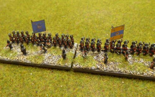 Brunswick infantry