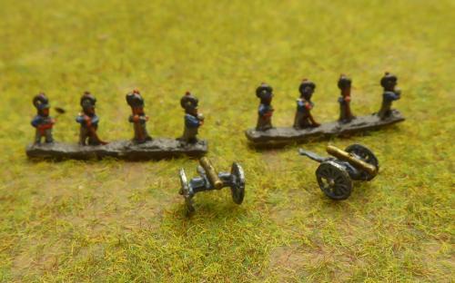 Dutch Belgian artillery