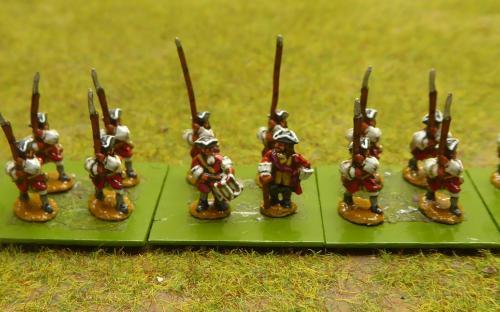 English Derby's Regiment