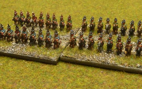 Napoleonic French Hussars
