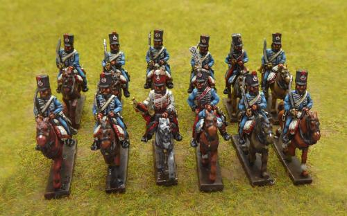 French 1st Hussars
