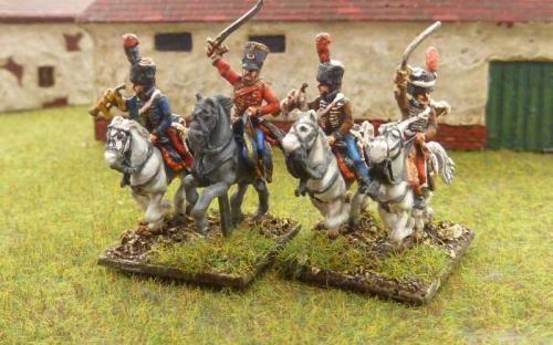 French 4th and 13th Chasseurs