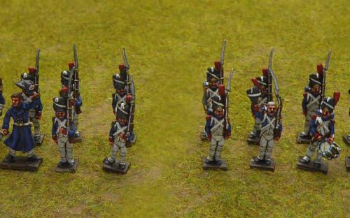 French Guard Grenadiers and Chasseurs