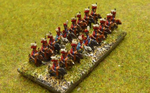 """French Imperial Guard Durch """"Red"""" Lancers"""