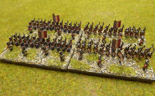 French Old Guard infantry