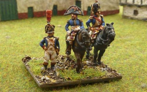 French Marshals, Generals, ADCs, orderlies