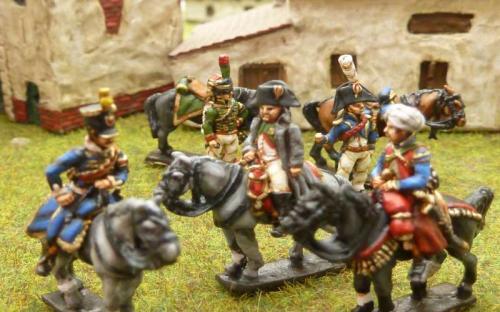 French Marshals, Napoleon and Staff