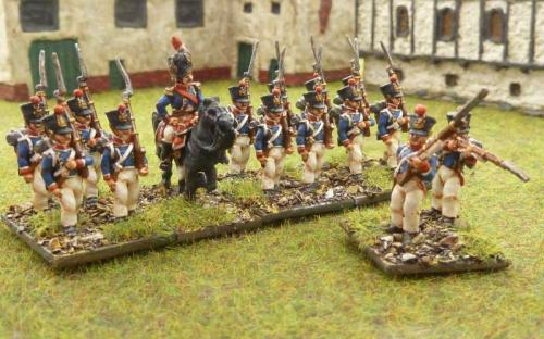 French Young Guard Tirialleurs