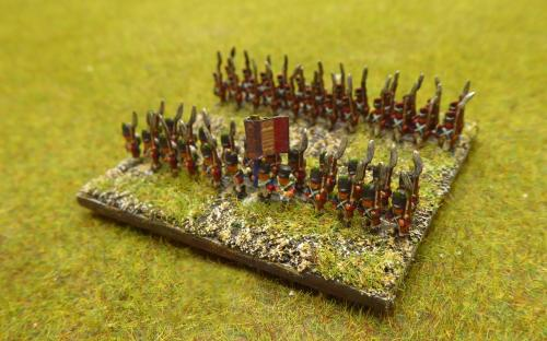 French Young Guard Grenadiers and Voltigeurs