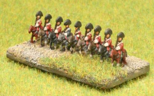6mm Napoleonic British Dragoons
