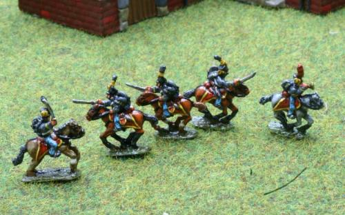 10mm Napoleonic Austrian Hussars