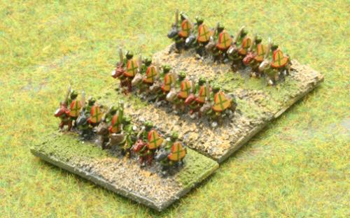 6mm Warmaster Ancients Indian army: Cavalry