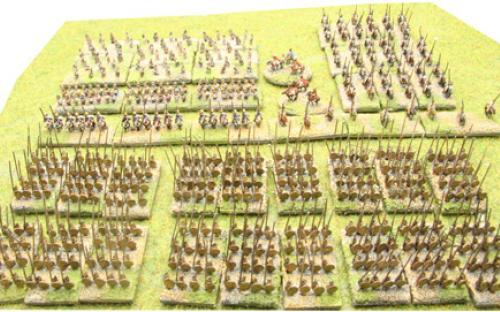 6mm Warmaster Ancients Macedonian army:
