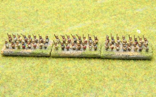 6mm Warmaster Ancients Macedonian army: Phalangites